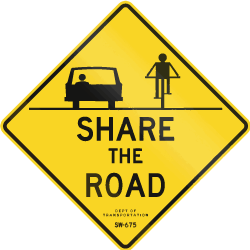 Share the Road Img
